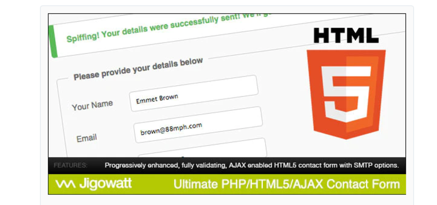 Ultimate PHP Contact Form