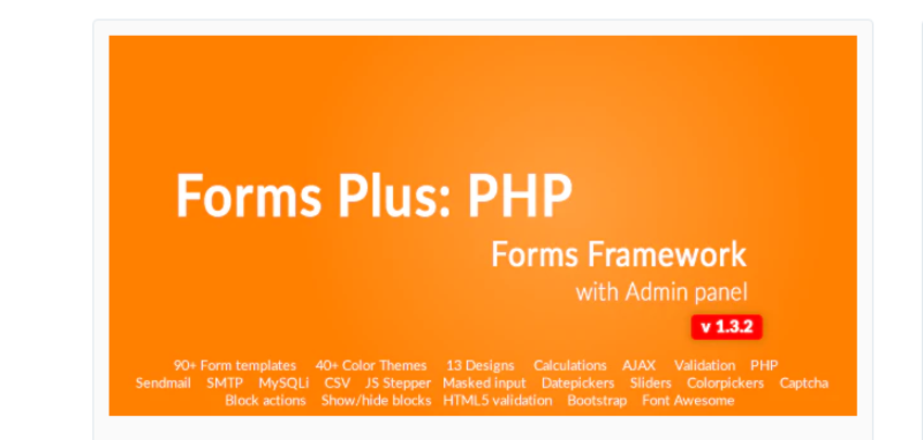 Form framework