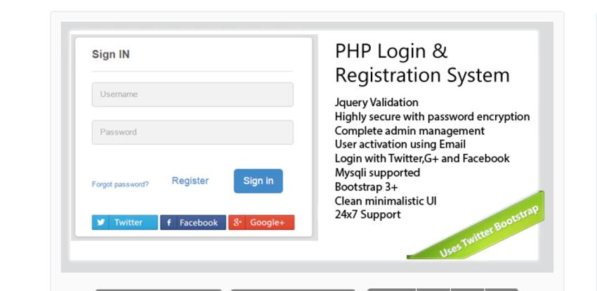 Secure PHP Login & Registration System