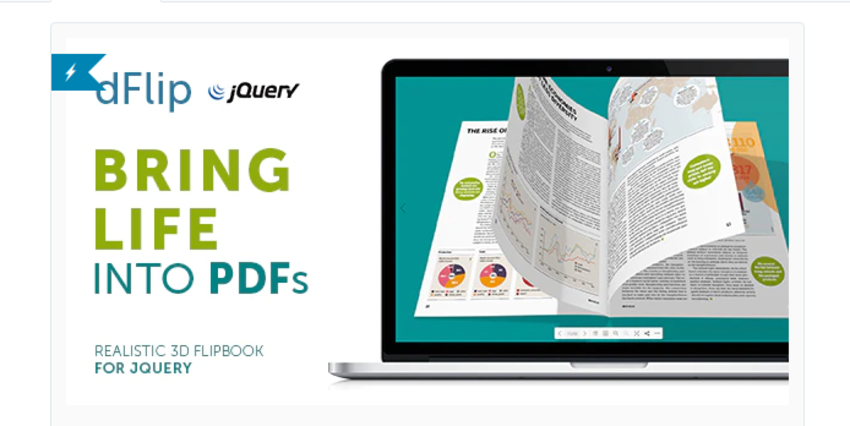 dFlip PDF jQuery plugin