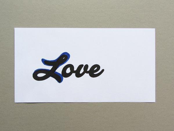 Revised lettering