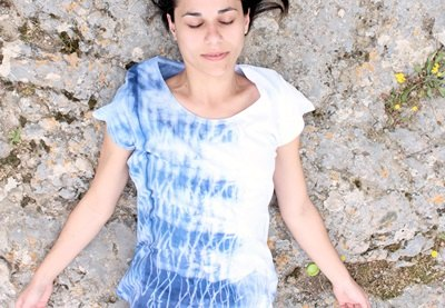 Shibori t shirt preview
