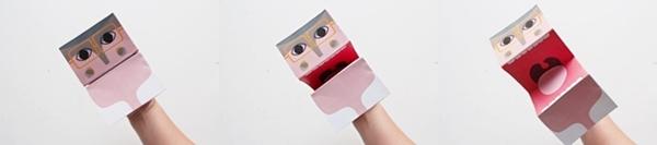Final monster hand puppets