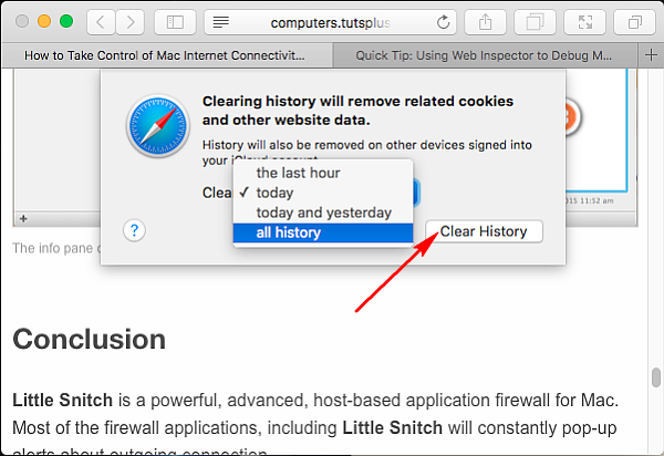 clear-all-history-in-safari