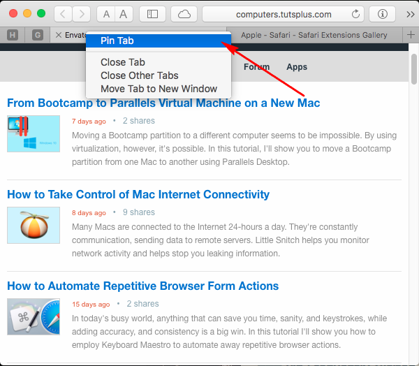 How to Take Advantage of Advanced Features in Safari in OS X El Capitan
