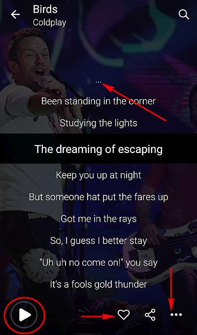 lyrics-screen-musixmatch-app