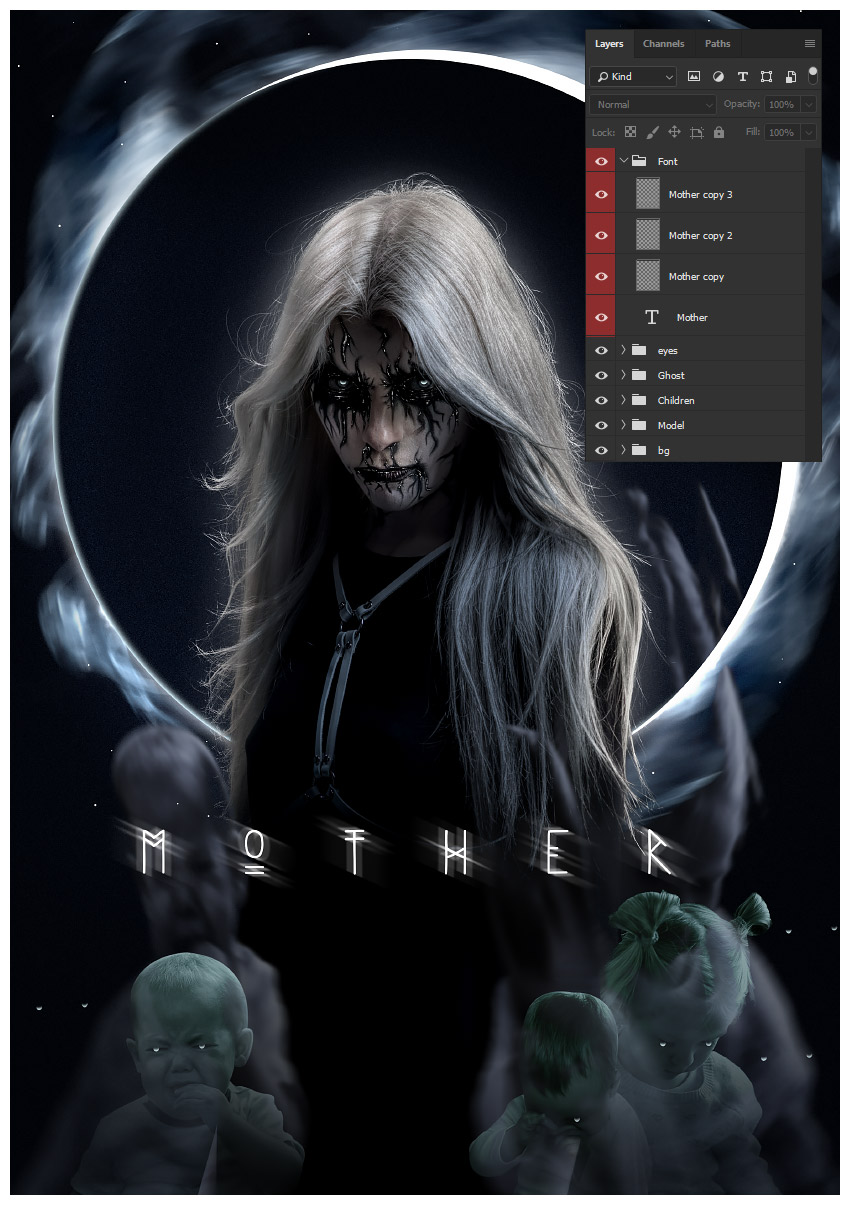 How to Create a Ghostly Horror-Themed Photo Manipulation in Adobe Photoshop