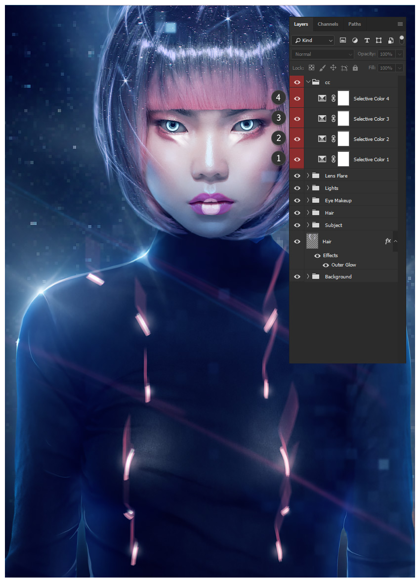 How to Create a Futuristic Fashion Portrait in Adobe Photoshop