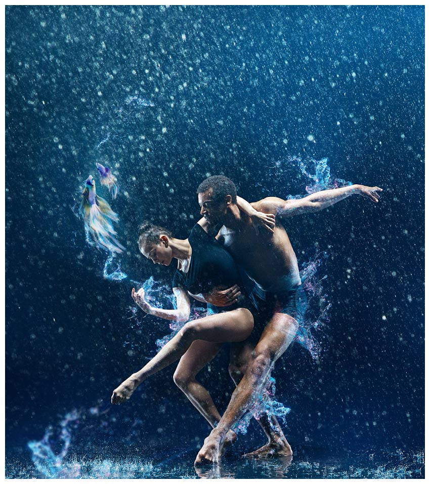 How To Create A Surreal Dance Scene In The Rain Affinity Photo Cool Moves Step By Salsa Diagram Place Large Splash