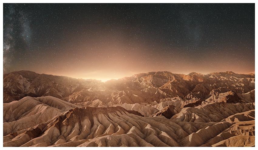 darken mountains