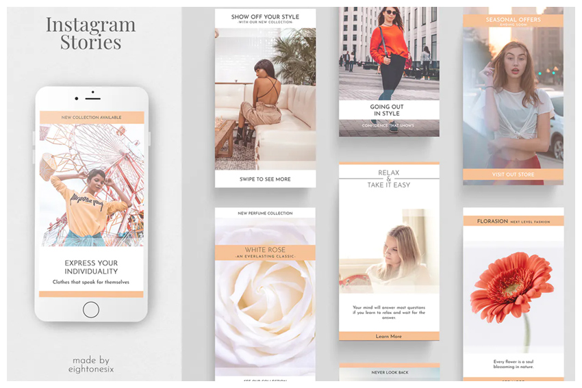 Instagram Story Template Kit