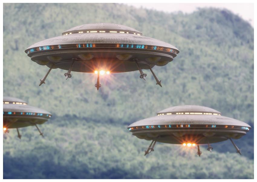 sci-fi lens flare
