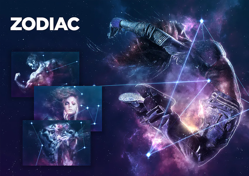 Zodiac Photoshop Action CS4