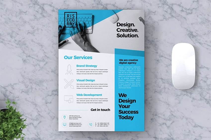 Creative Corporate Flyer Vol 02