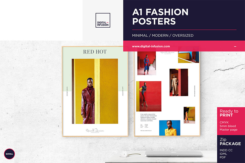A1 Fashion Posters
