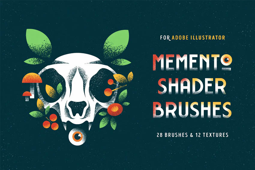 Shader Brushes for Illustrator