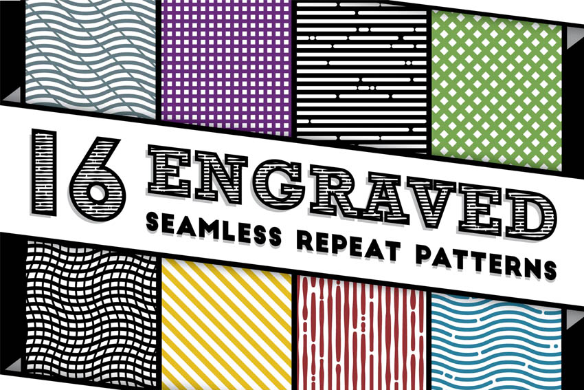 Engraved Repeat Patterns