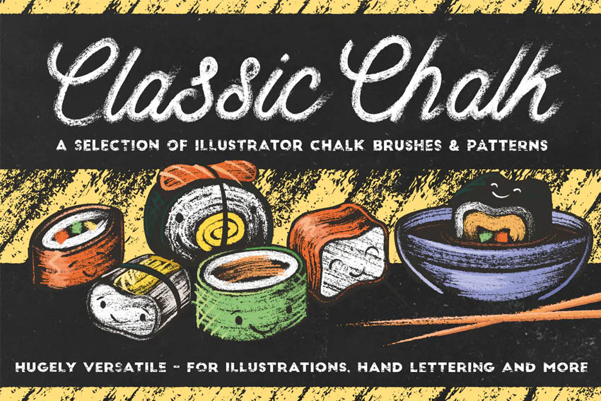 Classic Chalk - Brushes  Patterns