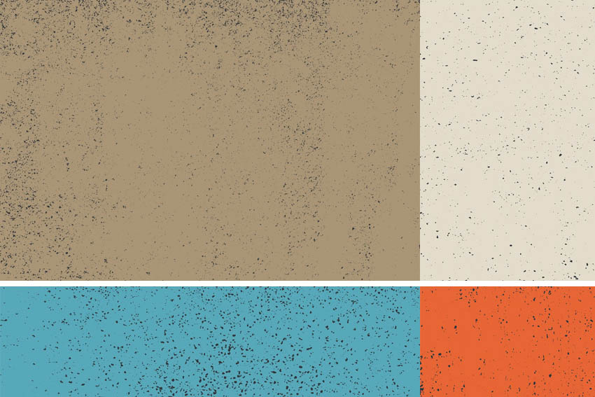 7 Speckled Vector Textures