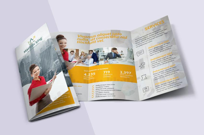 Statistics Tr fold Brochure