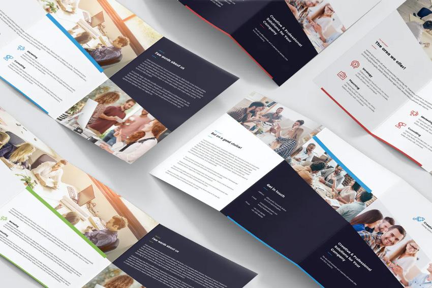 Brochure  Creative Startup Studio Tri-Fold