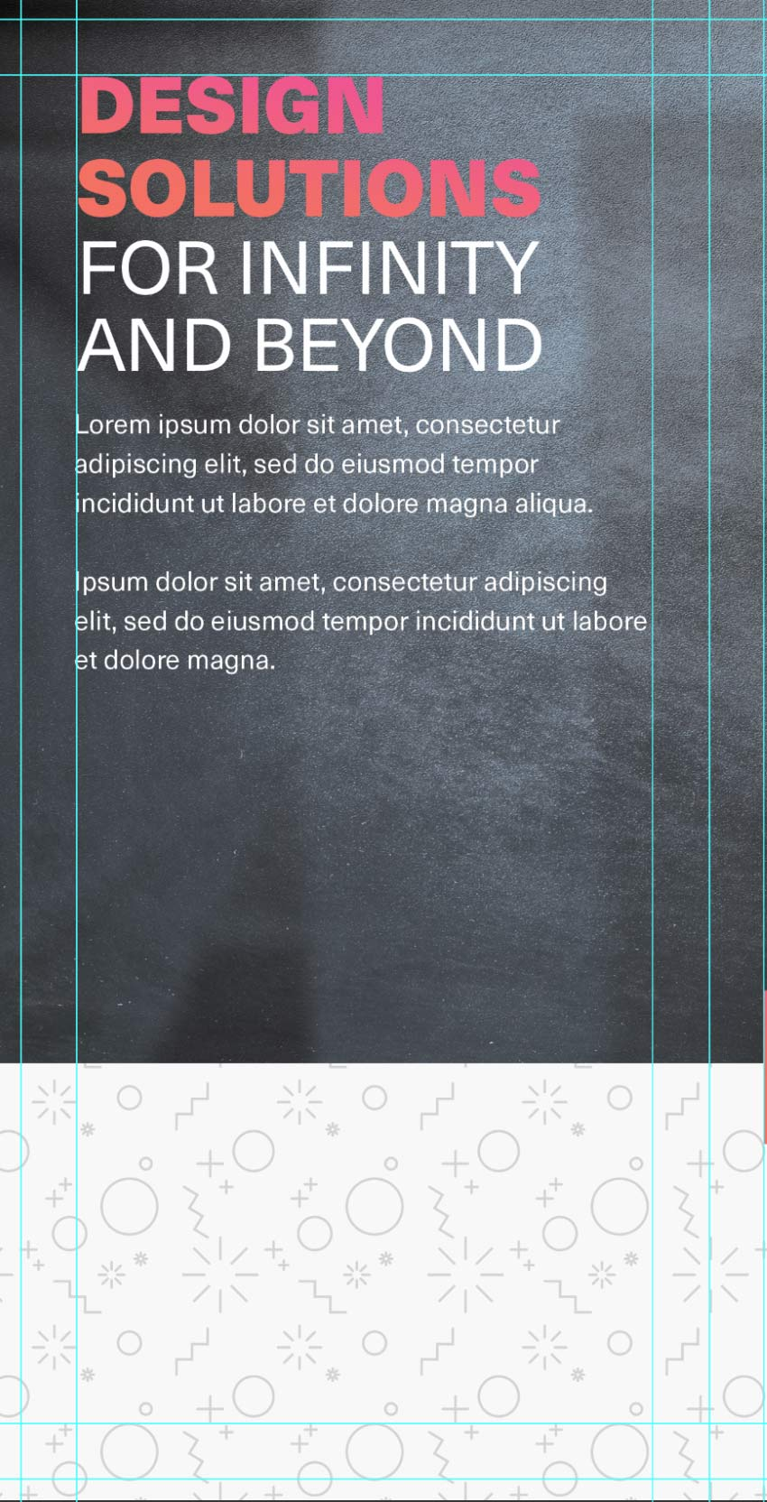 about us section on tri-fold brochure template