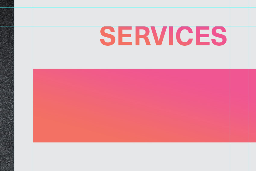 add service sub section