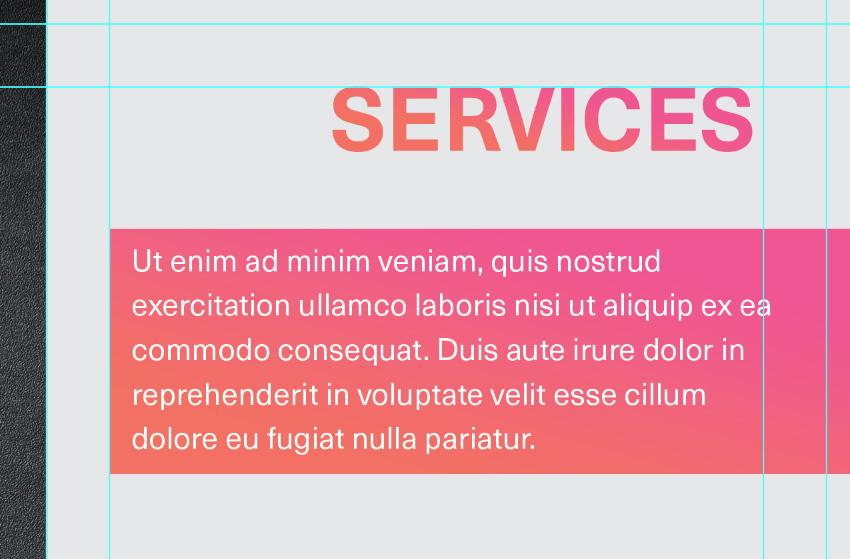 write short service intro
