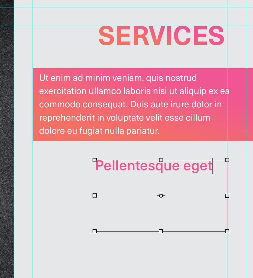 create text box