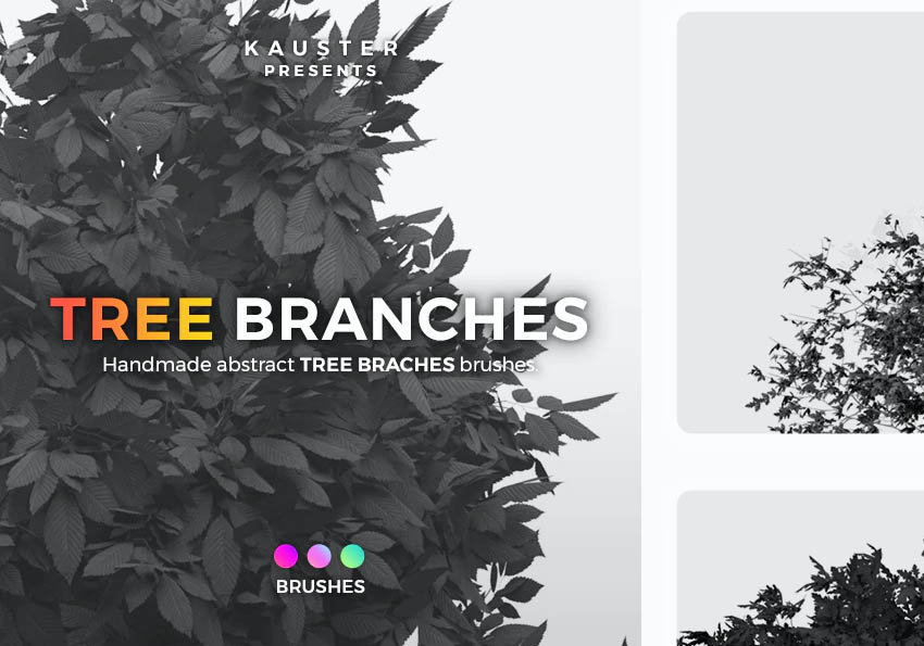 Tree Branches Brushes