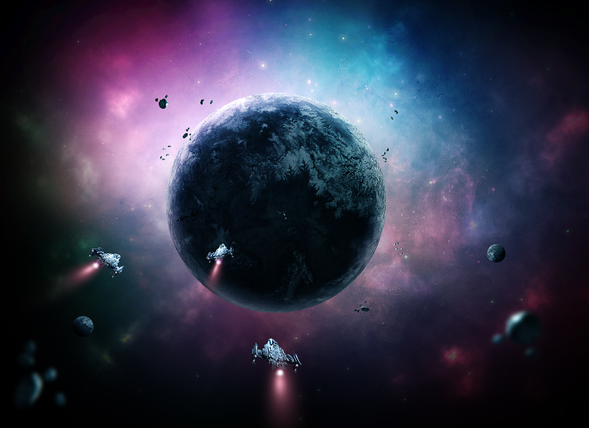 How to Create a Sci-Fi Outer Space Scene With Adobe Photoshop