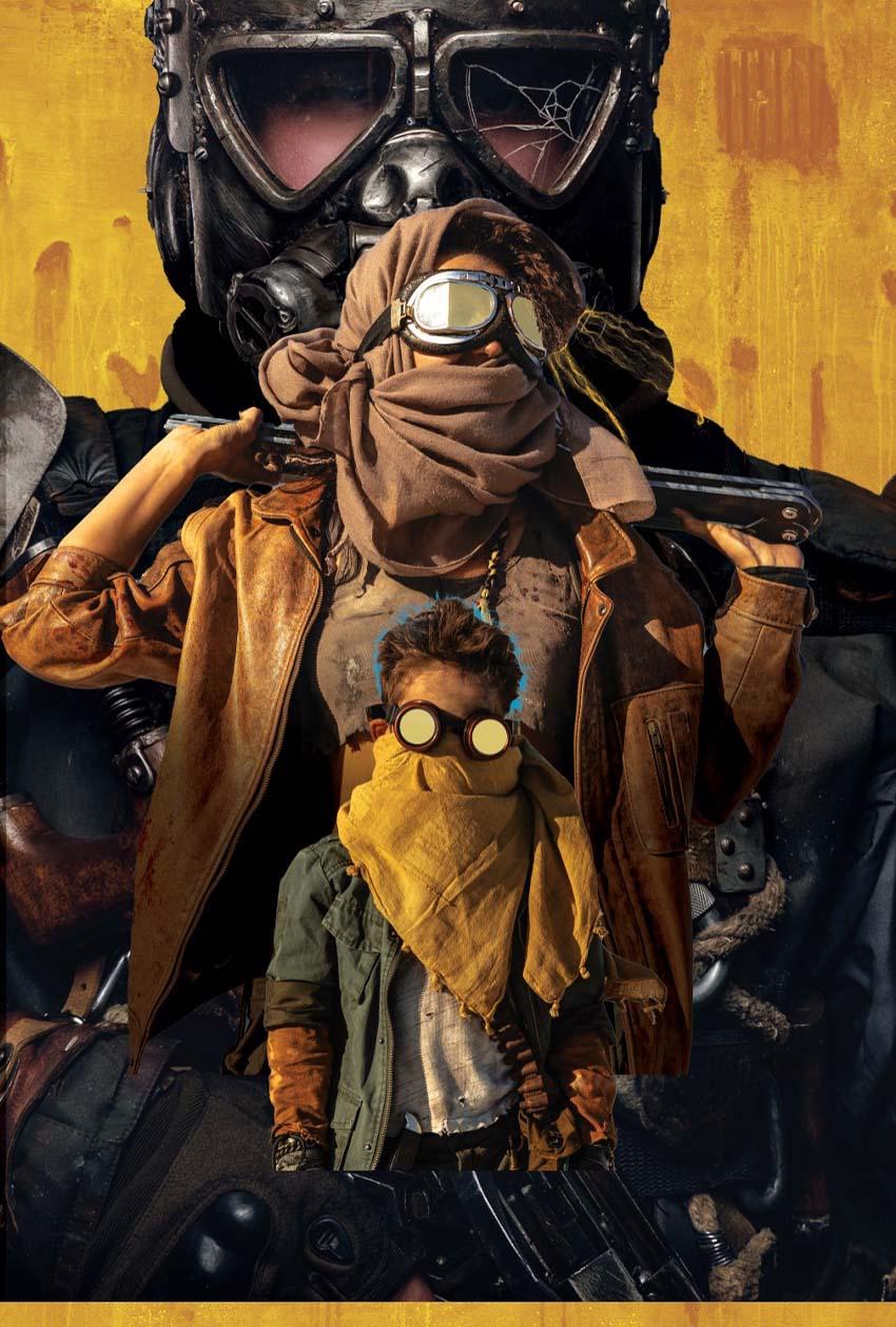 yellow goggles