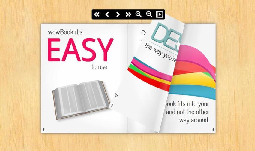 WowBook a Flipbook jQuery Plugin