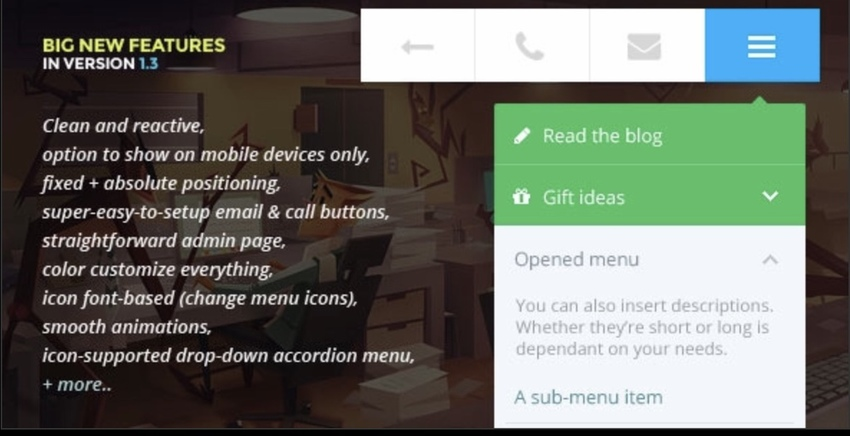 Touchy WordPress Mobile Menu