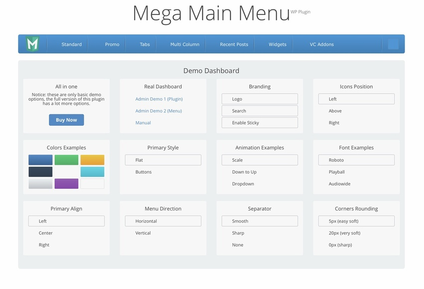 10 Best WordPress Menu Plugins for 2019