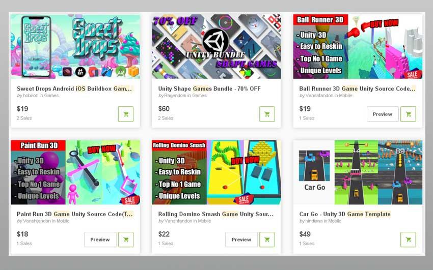 iOS Game Templates