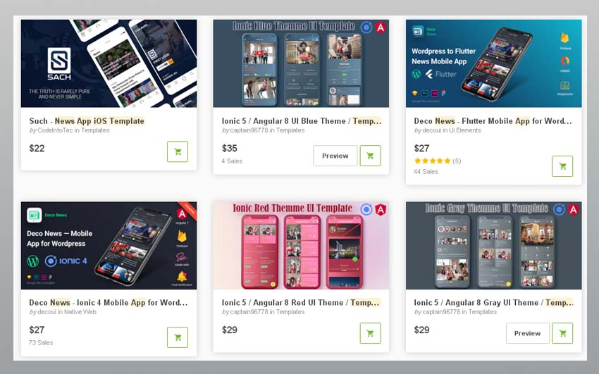 Bestselling ios news apps