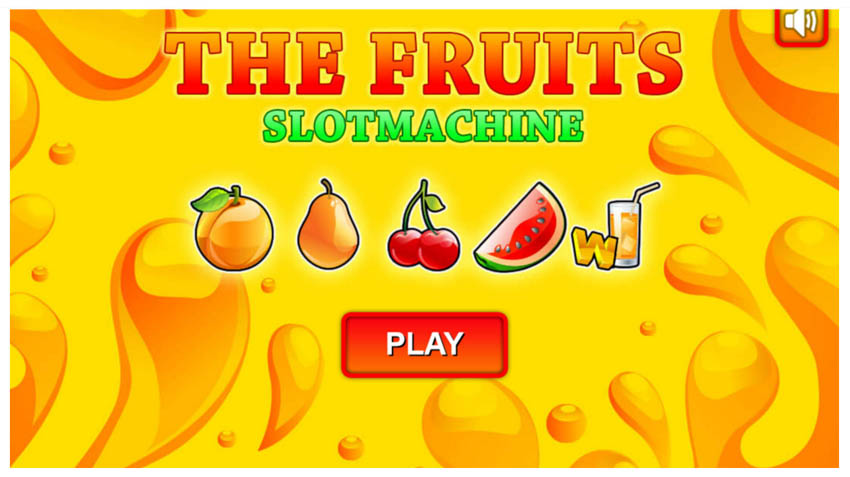 Slot Machine The Fruit