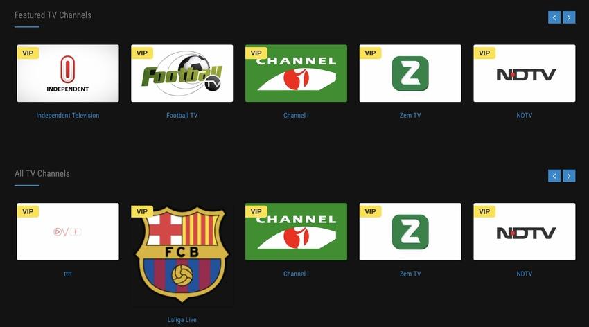 OVOO - Live TV Portal CMS w Membership System