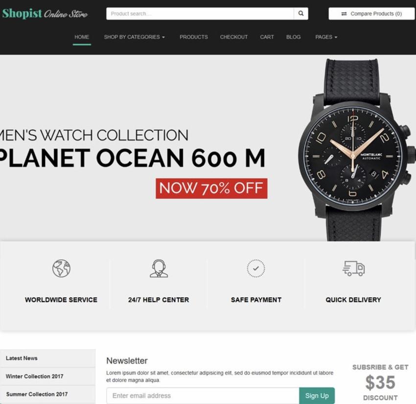 Shopist Laravel Multivendor eCommerce CMS  Designer