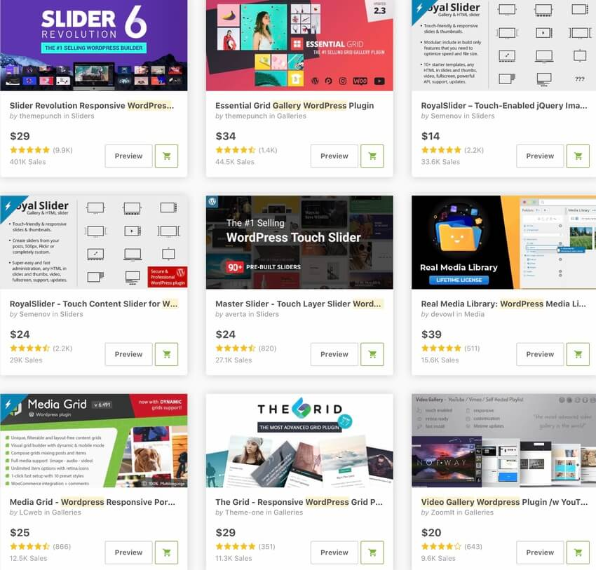 Bestselling WordPress Video Plugins and Players