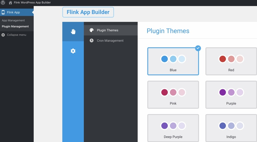 Flink - WordPress App Builder