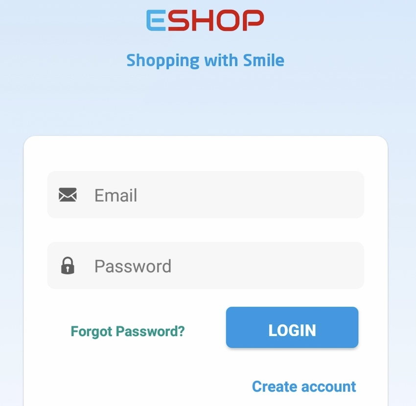 EShop Native Android eCommerce App