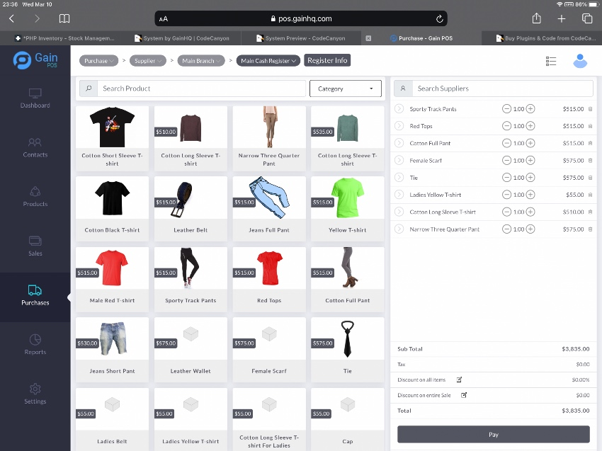 Gain POS - Inventory and Sales Management System