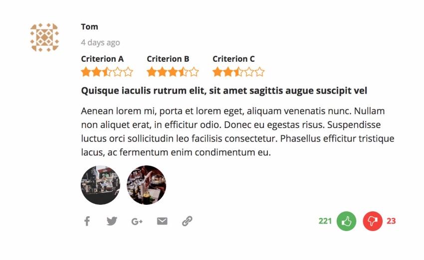 Reviewer WordPress Plugin