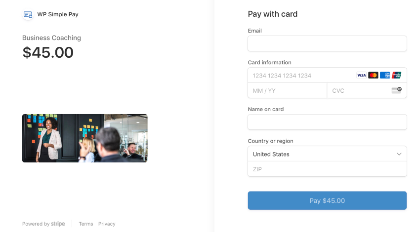 Stripe Payments WordPress Plugin – WP Simple Pay