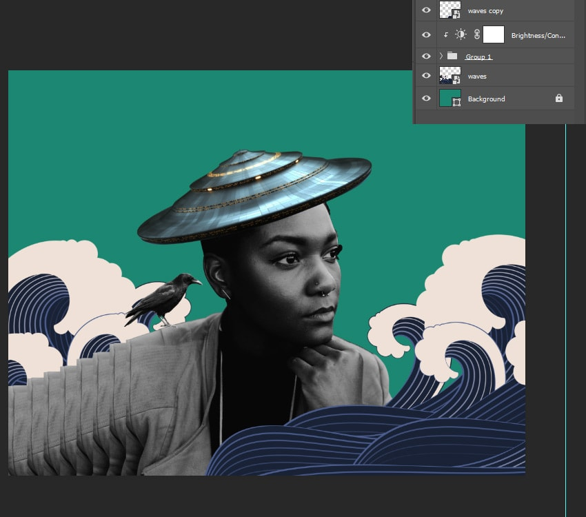 Adding the waves