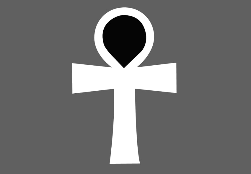 Changing the color of the cross