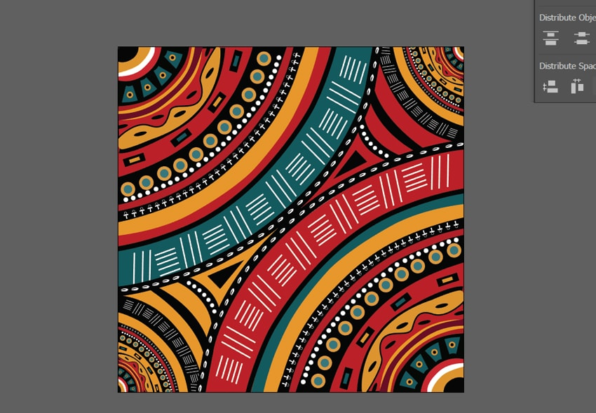 How To Create A Tribal African Inspired Pattern In Adobe Illustrator Fascinating African Tribal Patterns