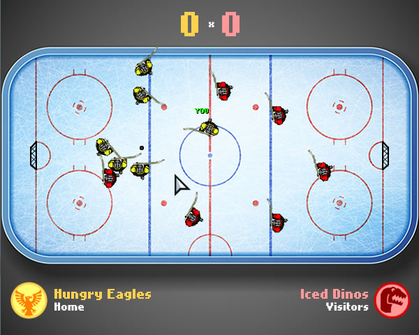 First version of Hockeynamite